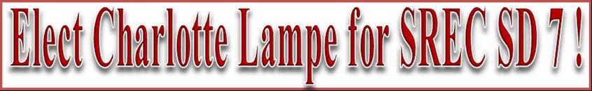 Charlotte L. Lampe for SREC – SD 7